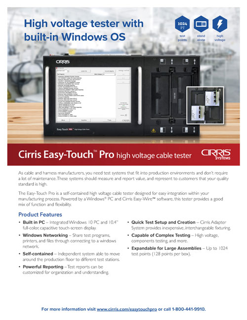 Cirris Easy-Touch Pro
